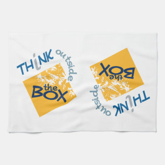 OUTSIDE THE BOX kitchen towels