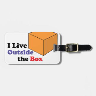 Outside the Box Tags For Luggage