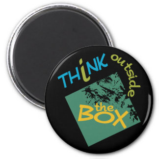 Outside The Box magnet