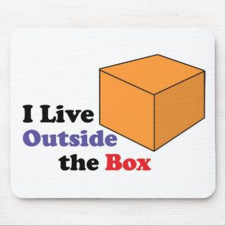 Outside the Box Mouse Pad