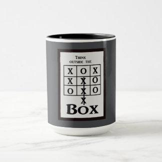 Outside the box -- Mug