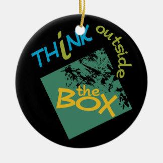 Outside The Box ornament