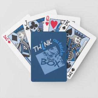OUTSIDE THE BOX  playing cards