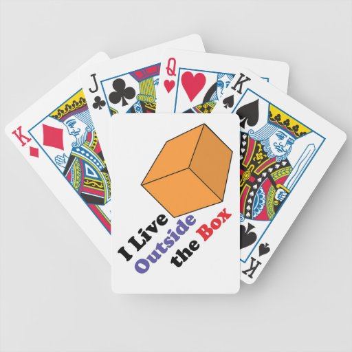 Outside the Box Bicycle Poker Deck