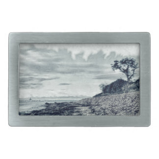 Outside the Reef Rectangular Belt Buckle