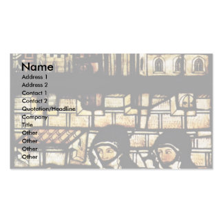 Outside The Walls Of St. Clare Of Assisi By Meiste Business Cards