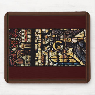 Outside The Walls Of St. Clare Of Assisi By Meiste Mouse Pad