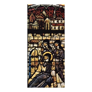 Outside The Walls Of St. Clare Of Assisi By Meiste Personalized Rack Card