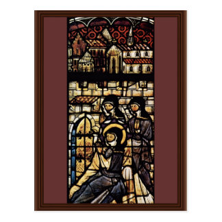 Outside The Walls Of St. Clare Of Assisi By Meiste Postcards