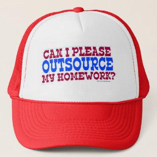 Outsource  my Homework Trucker Hat