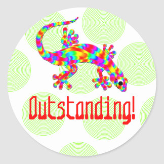 Outstanding Salamander School Stickers