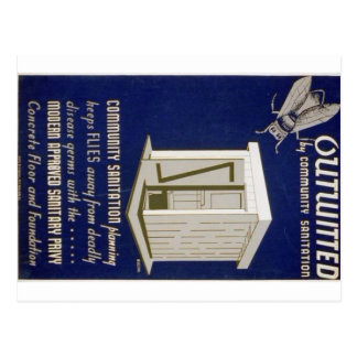 Outwitted Postcard