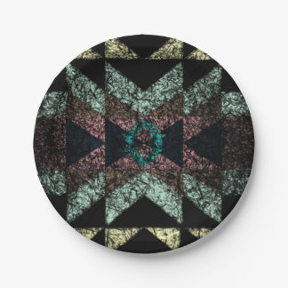 OutwornTribal Aztek Pattern Paper Plate