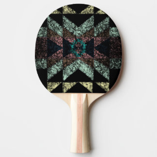 OutwornTribal Aztek Pattern Ping Pong Paddle