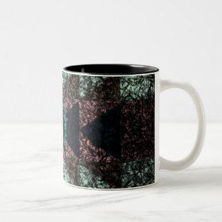 OutwornTribal Aztek Pattern Two-Tone Coffee Mug
