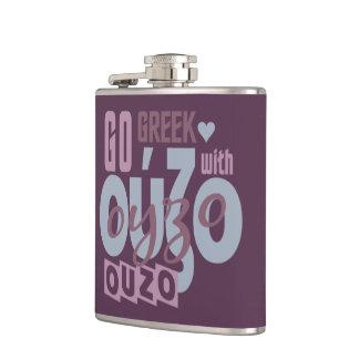 OUZO custom flask