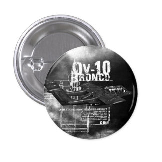 OV-10 Bronco 3 Cm Round Badge