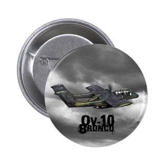 OV-10 Bronco 6 Cm Round Badge