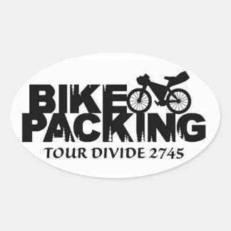 Oval Bikepacking: Tour Divide Sticker