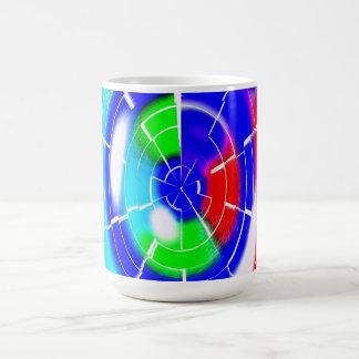 Oval maze mugs
