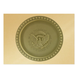 Oval Office Ceiling, Presidential USA Seal Pack Of Chubby Business Cards