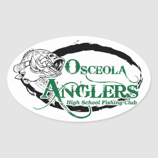 Oval Stickers, Glossy, 4.5 x 2.7 inch (sheet of 4) Oval Sticker