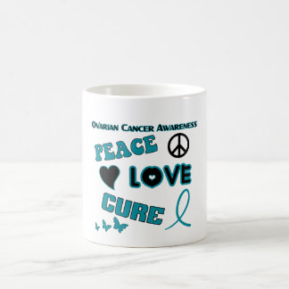 Ovarian Cancer Awareness Coffee Cup Basic White Mug