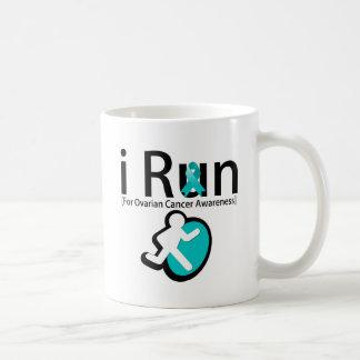 Ovarian Cancer Awareness I Run Coffee Mugs