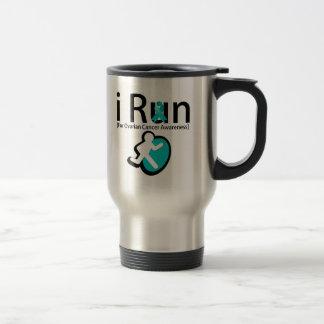 Ovarian Cancer Awareness I Run Mugs