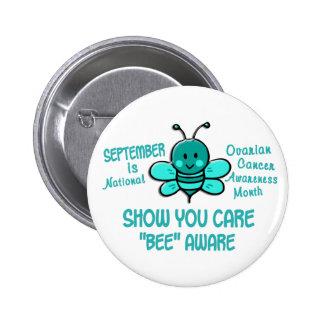 Ovarian Cancer Awareness Month Bee 1 1 Pin