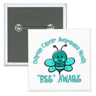 Ovarian Cancer Awareness Month Bee 1 2 Pin