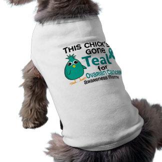 Ovarian Cancer Awareness Month Chick 3 September Sleeveless Dog Shirt