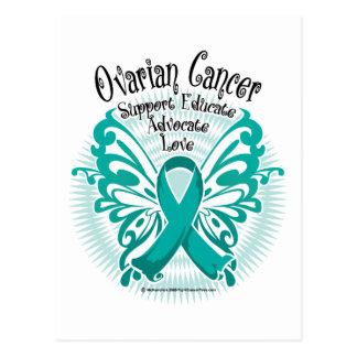 Ovarian Cancer Butterfly 3 Postcard