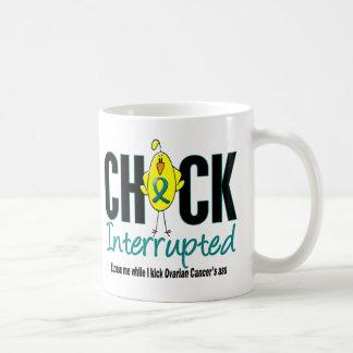 Ovarian Cancer Chick Interrupted Coffee Mug