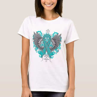 Ovarian Cancer Cool Wings T-Shirt