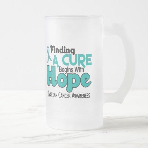 Ovarian Cancer HOPE 5 Mugs