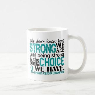 Ovarian Cancer How Strong We Are Basic White Mug
