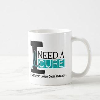 Ovarian Cancer I NEED A CURE 1 Coffee Mug