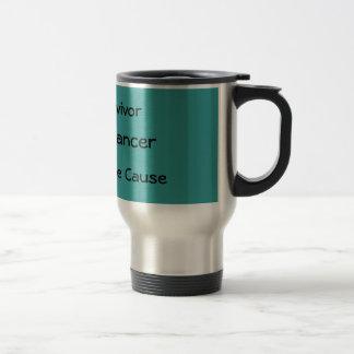Ovarian Cancer Mug - Customized - Customized