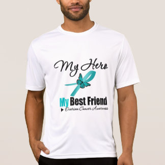Ovarian Cancer My Hero My Best Friend T Shirts