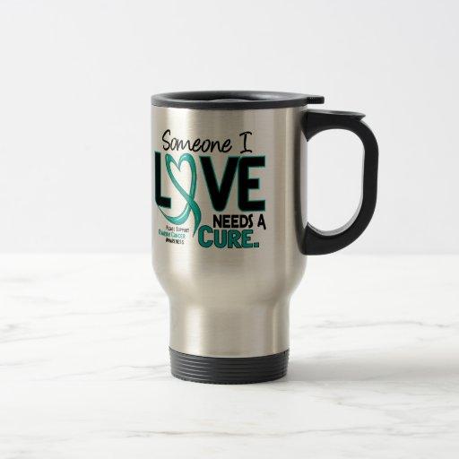 Ovarian Cancer NEEDS A CURE 2 Mug
