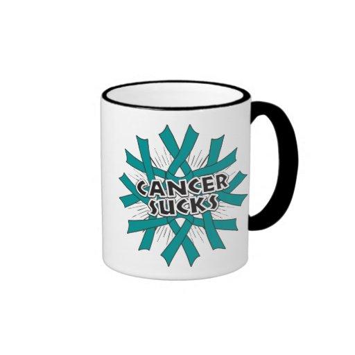 Ovarian Cancer Sucks Mug