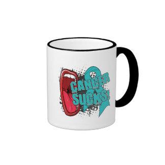 Ovarian Cancer Sucks Scream It Mug