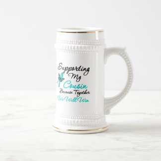 Ovarian Cancer Supporting My Cousin Coffee Mug