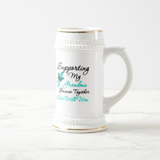 Ovarian Cancer Supporting My Grandma Mug