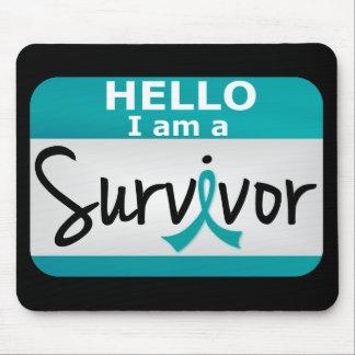 Ovarian Cancer Survivor 24.png Mouse Pad