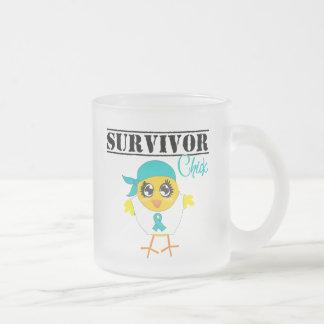 Ovarian Cancer Survivor Chick Mug