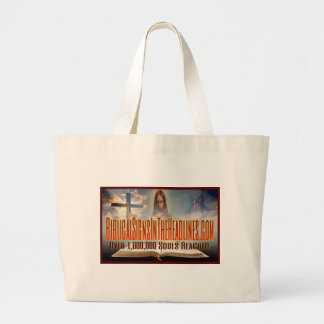 """Over 1,000,000 Souls"" Large Tote Bag"