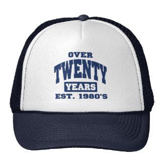 Over 20th Birthday Mesh Hat