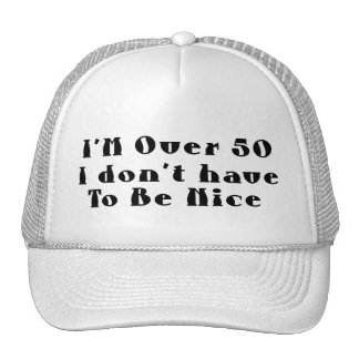 Over 50 Hat